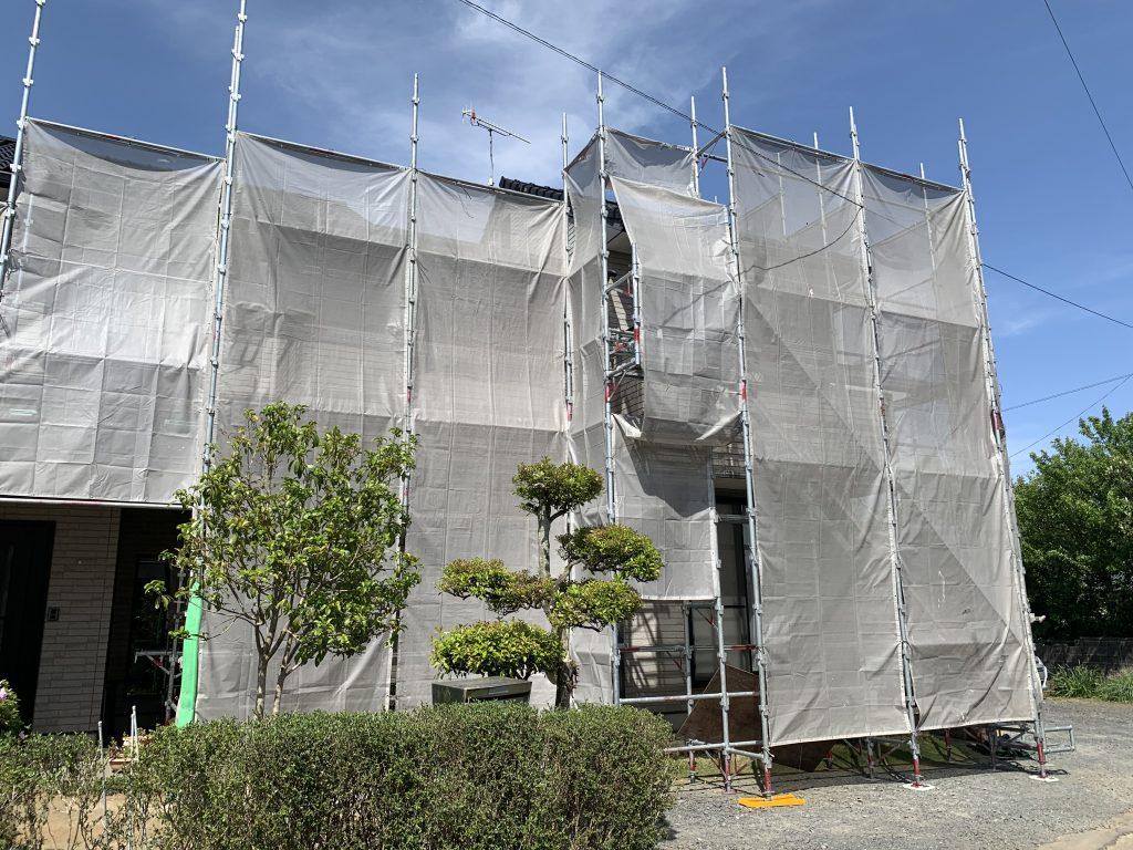 水戸市 大足町 外壁塗装