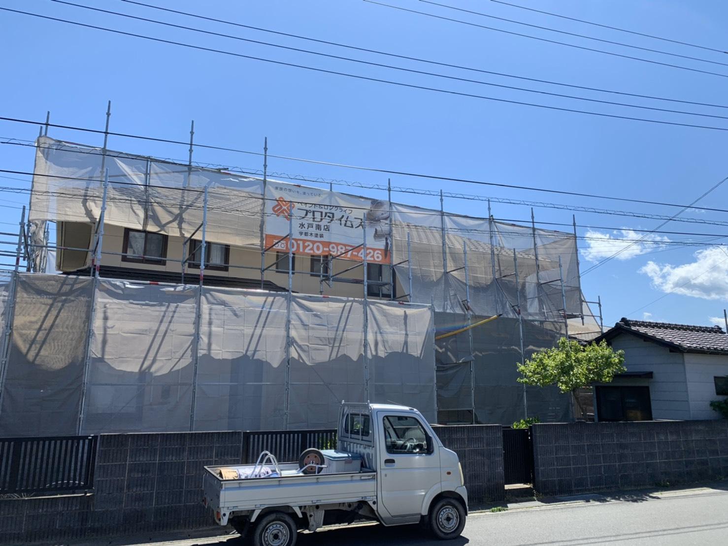 北茨城 外壁塗装 屋根工事