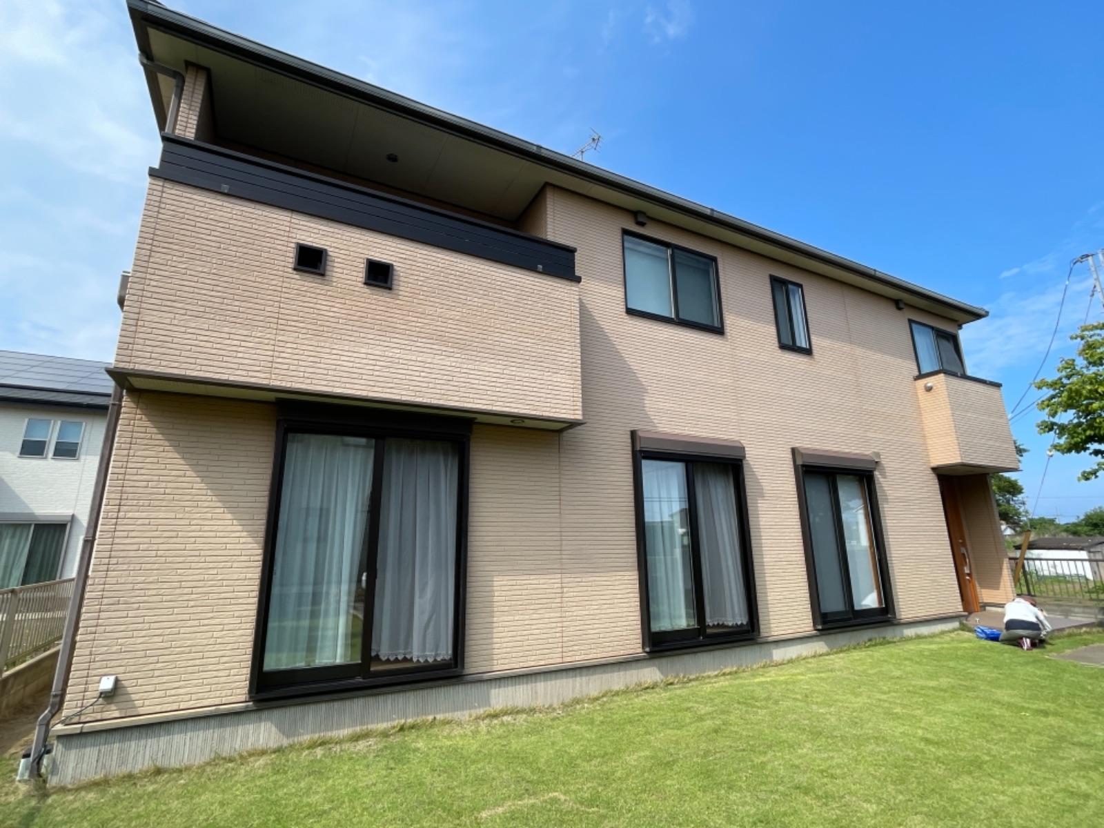 ひたちなか市 和尚塚 S様邸 外壁・屋根塗装工事